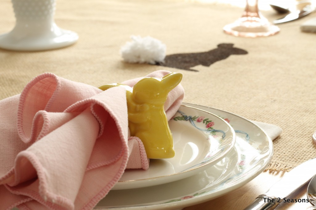 Bunny Table Runner.