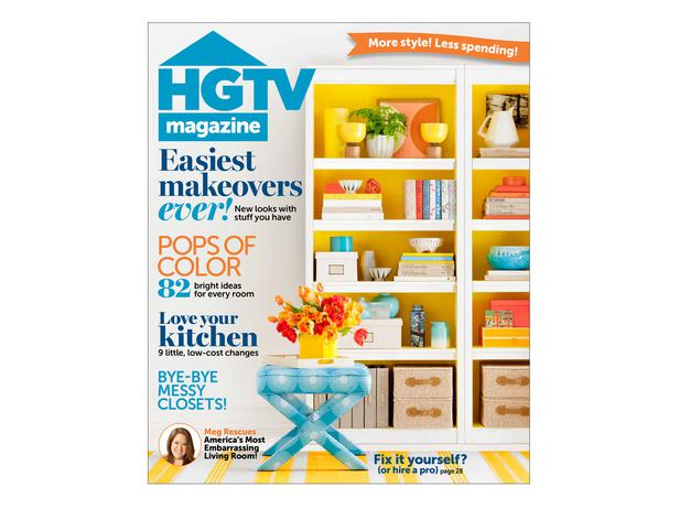 Magazine from HGTV - The 2 Seasons