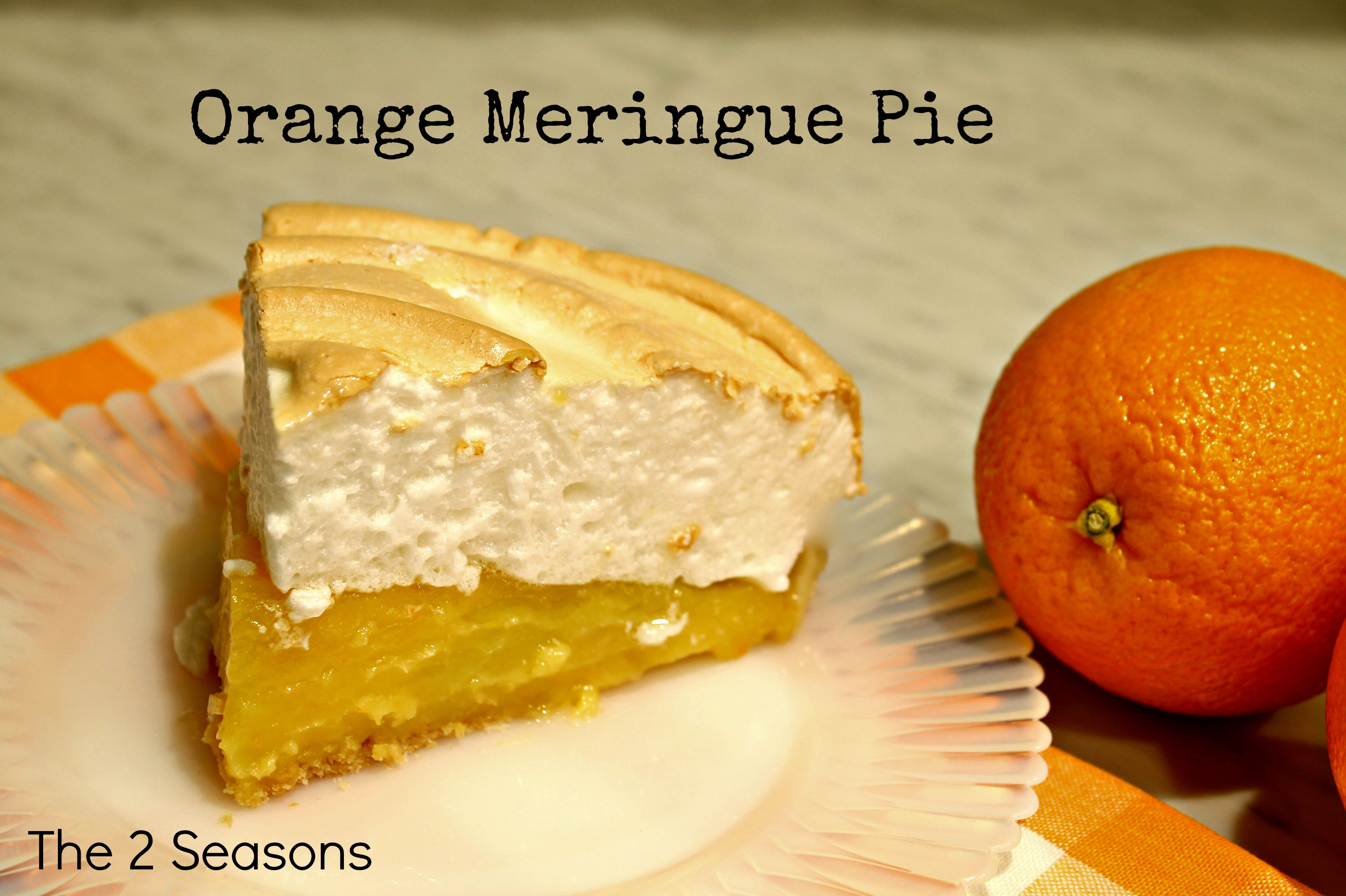 Orange Meringue Pie - Orange Meringue Pie