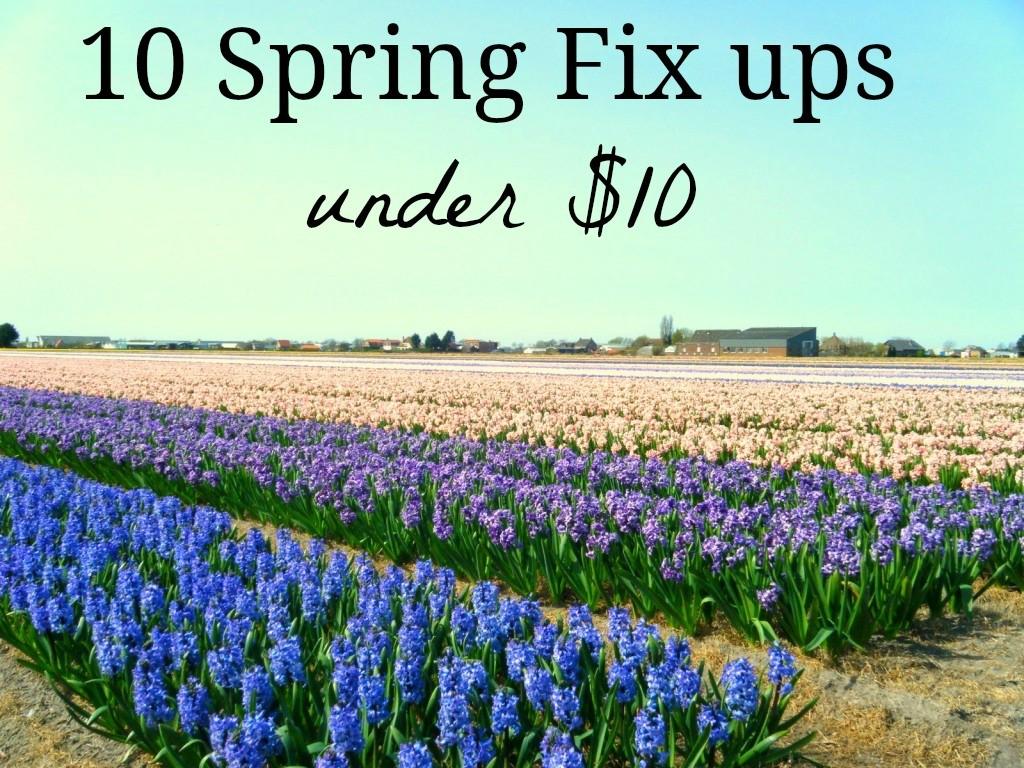 10 Spring fix ups under $10