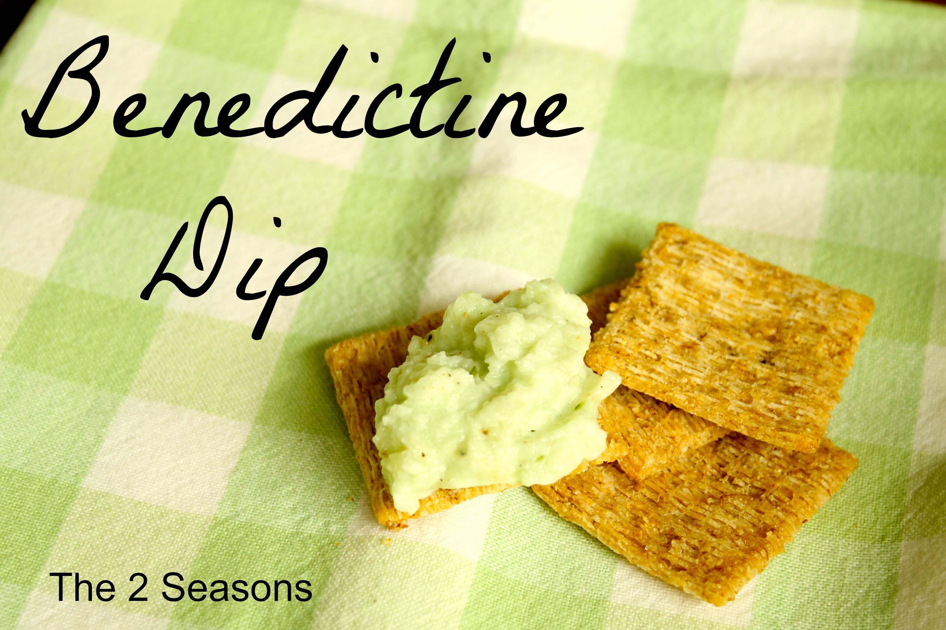 Benedictine -  Benedictine Dip Recipe