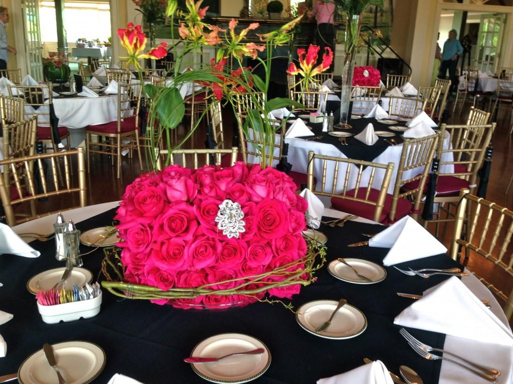 Rose Purse Centerpiece The 2 Seasons