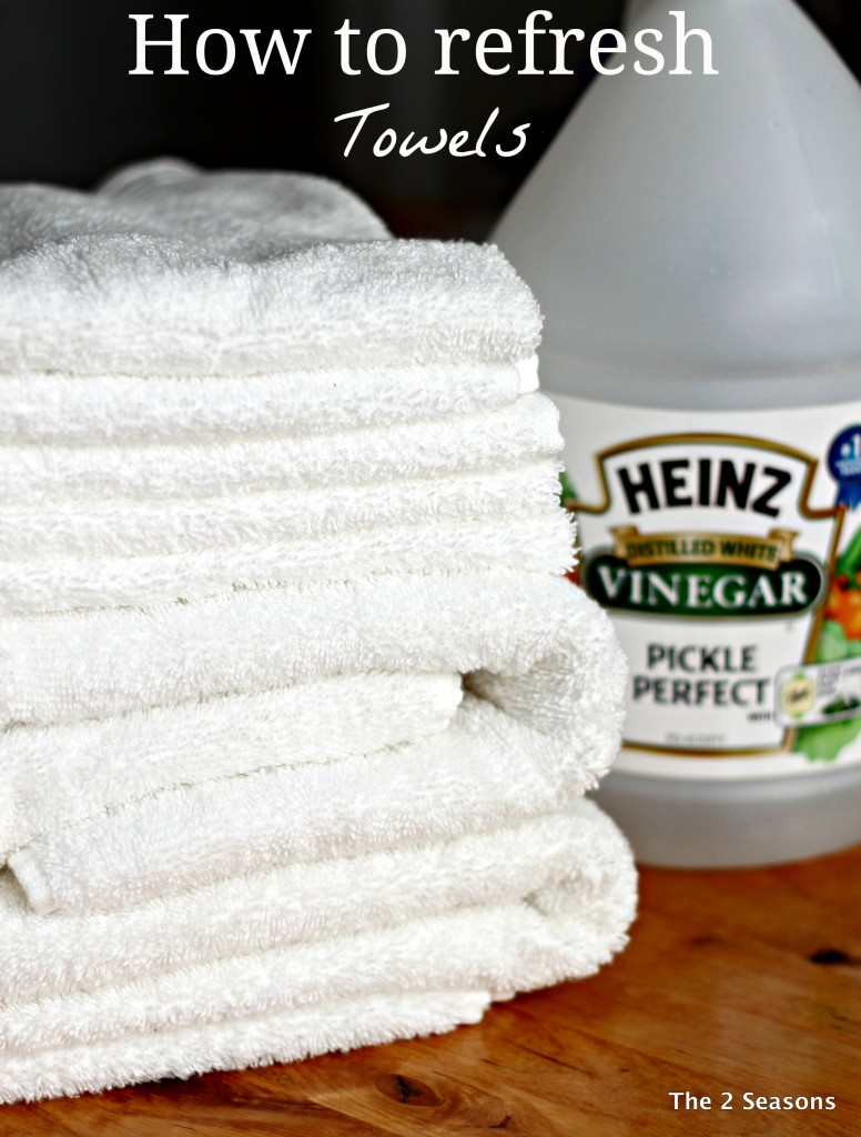 How to refresh your towels
