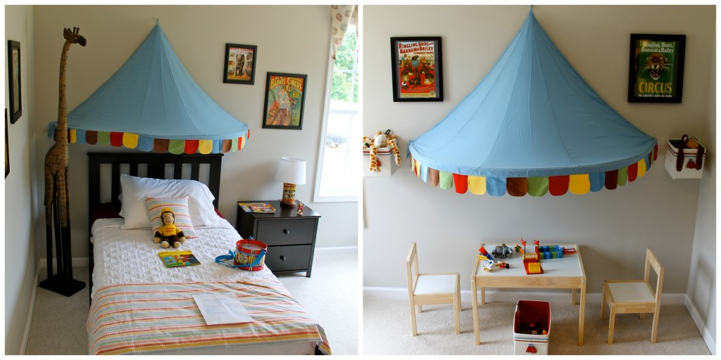 Circus themed bedroom inspiration lentine marine 34508 for Circus themed bedroom ideas