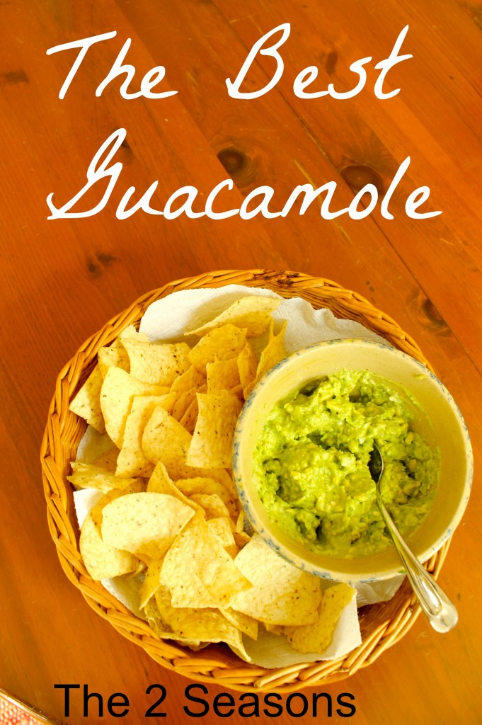 Guacamole 681x1024 -  Three Happy Hour Appetizers and Two Drinks