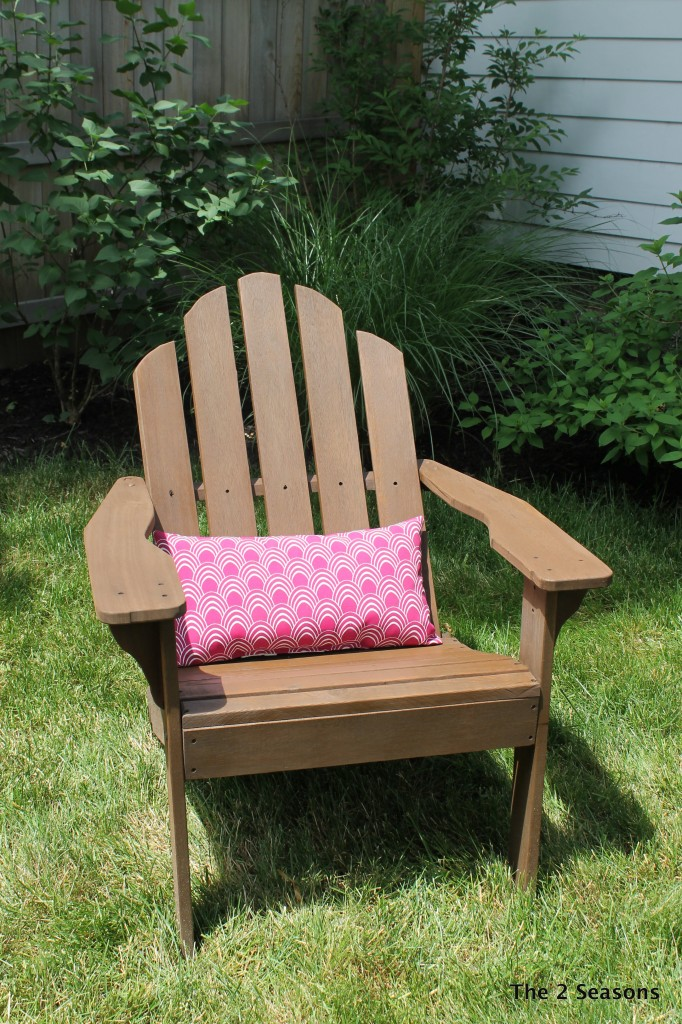 Adirondack Chair-Stained