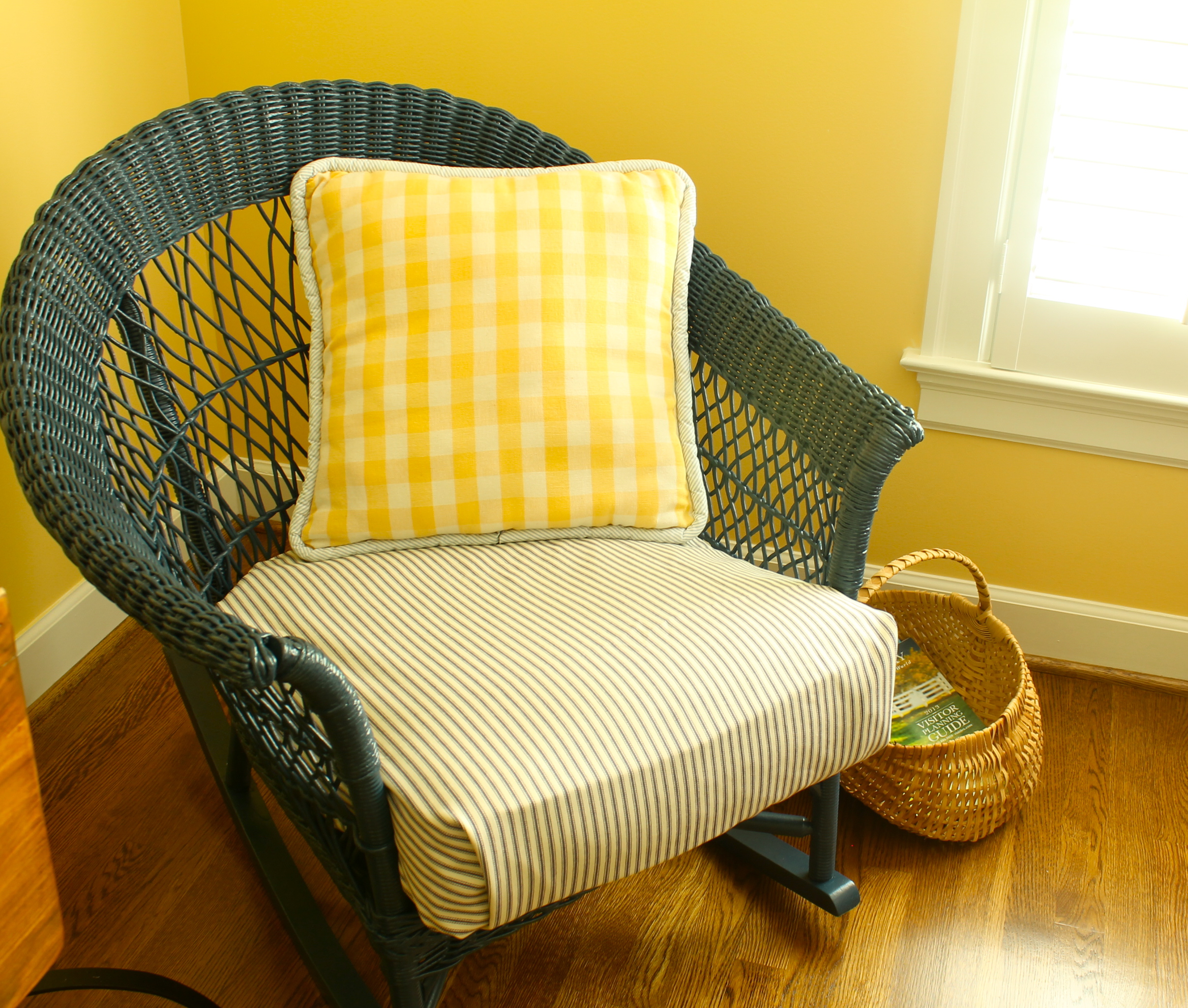 Updating Wicker Chair
