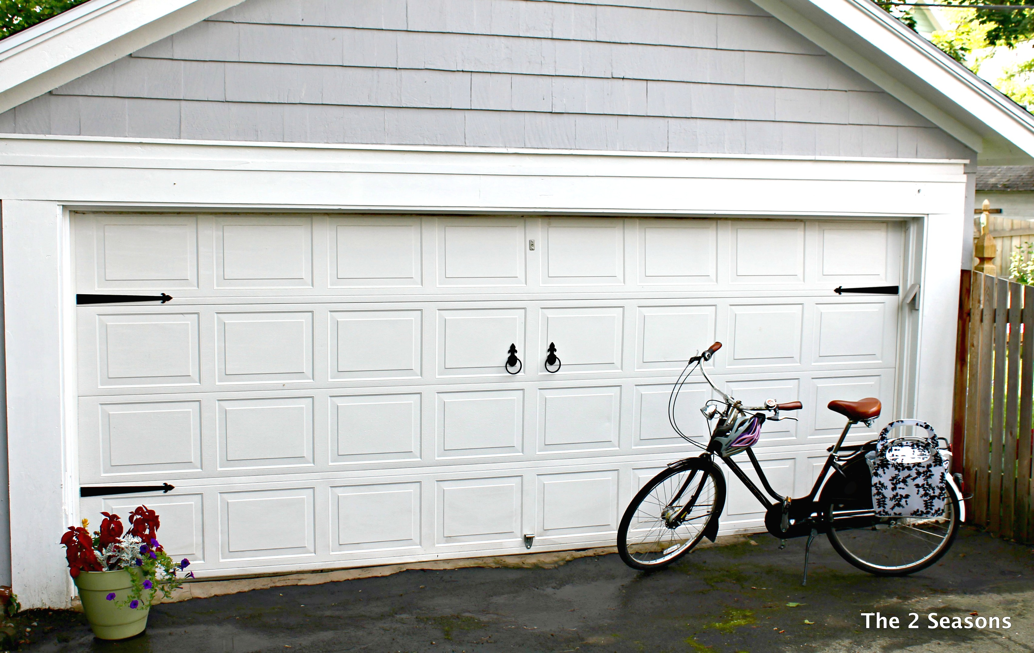 Garage after 1 - How to Update A Garage Door