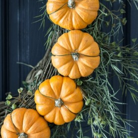 circle pumpkin fall wreath 275x275 - The Seasons' Saturday Selections, #7