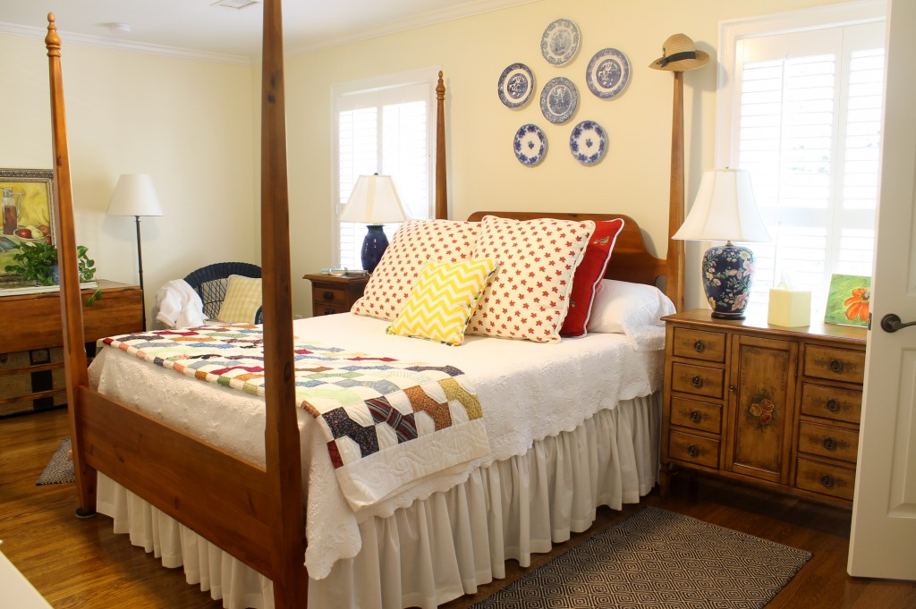 Fall in guest room