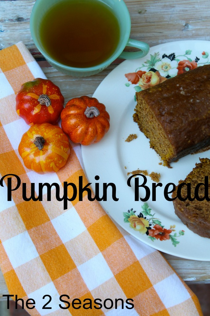 Pumpkin bread - The 2 Seasons