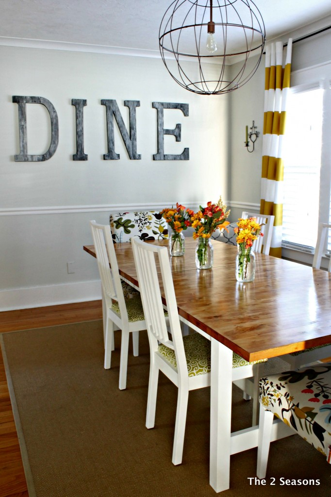 Staining a dining room table - How to decorate a dining room ...