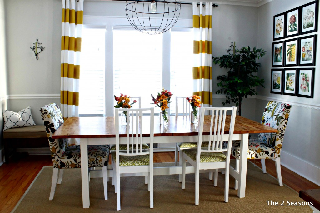 staining dining room table ikea set malaysia and chairs uk sale