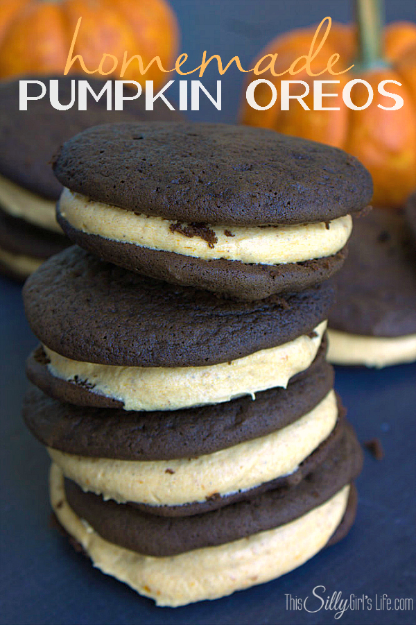 pumpkin oreos - The Seasons' Saturday Selections, #11