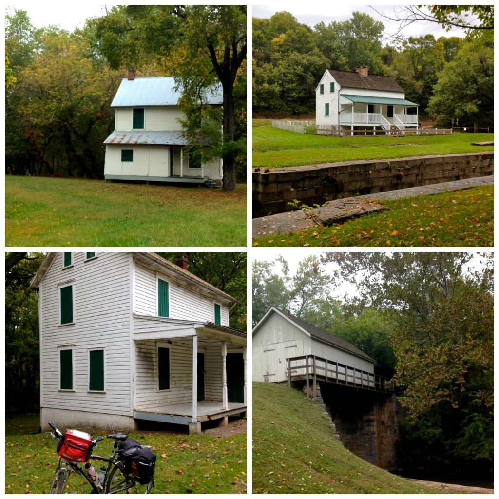 Lock houses 1024x1024 - Our Bicycle Trip from Pittsburgh to DC