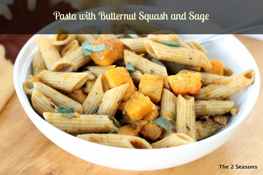 Pasta with Butternut Squash - the 2 Seasons