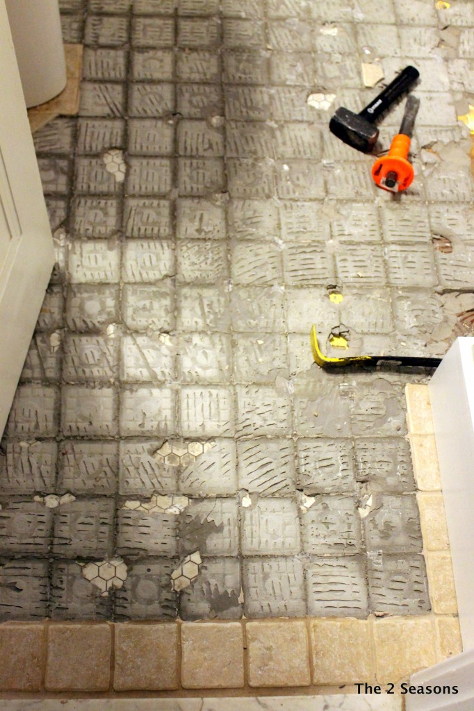 Bathroom Tile project