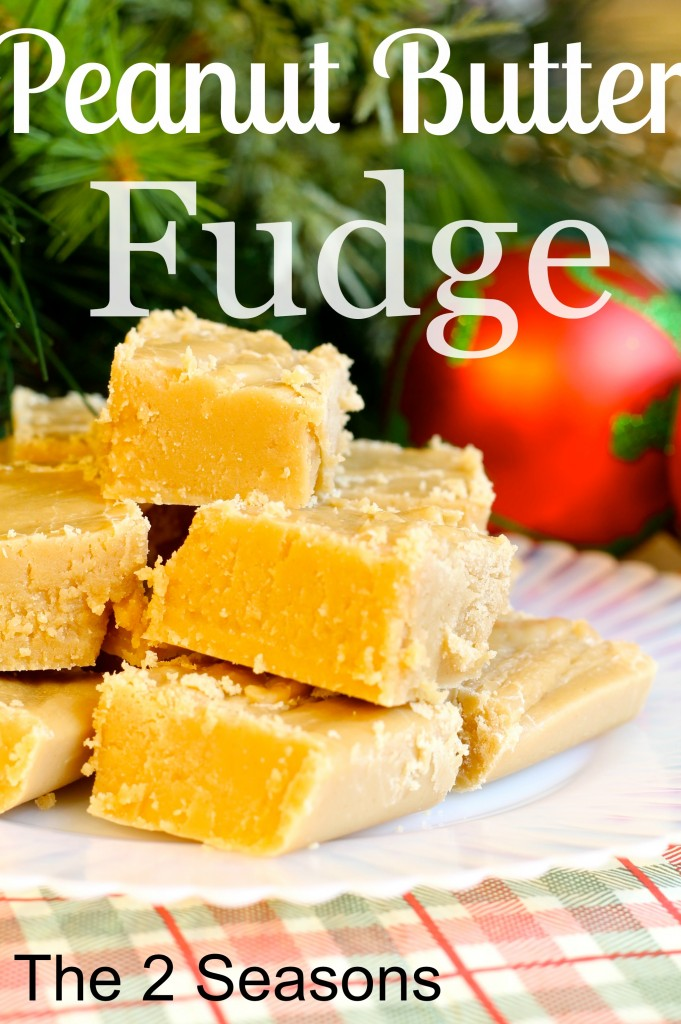 Peanut Butter Fudge 681x1024 - Peanut Butter Fudge Recipe