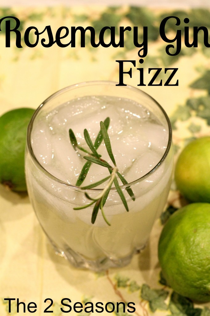 Rosemary Gin Fizz 681x1024 - Cheery Cocktails for Your Holiday Entertaining
