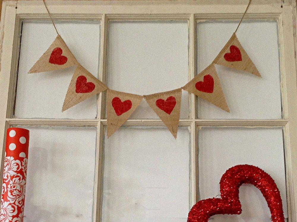 Banner - Adding Some Valentine Touches