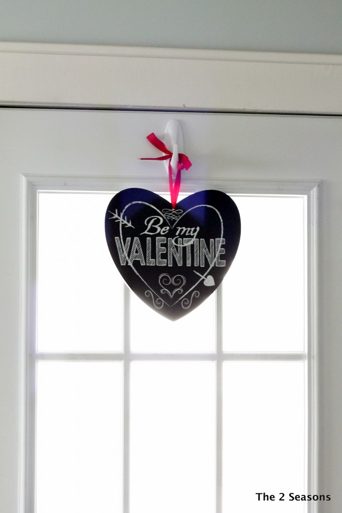 Valentines touches to the home