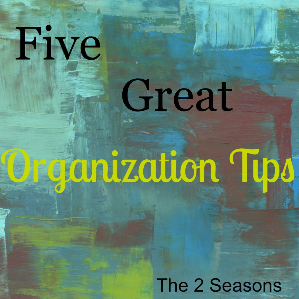 Organization Tips 2