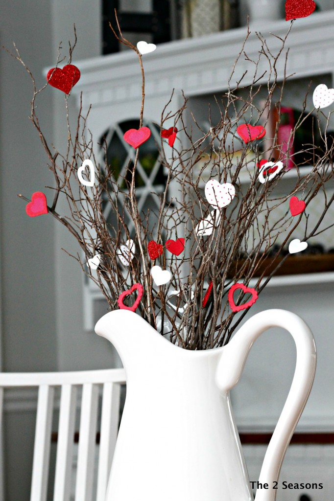 Valentine Touches to the HOme