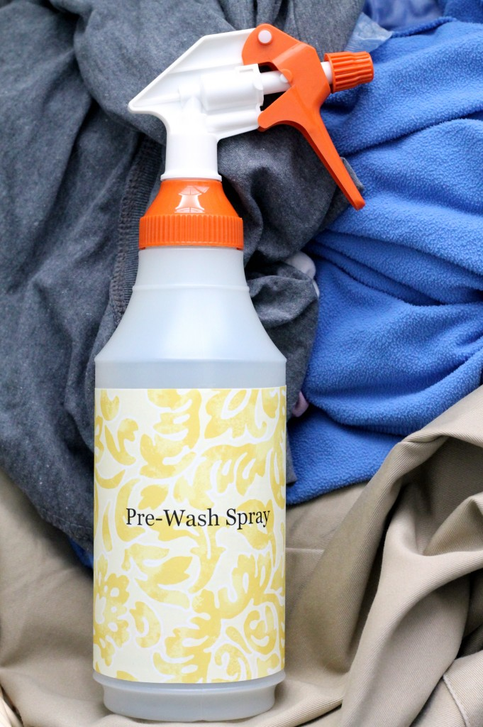 DIY Pre- Wash Spray