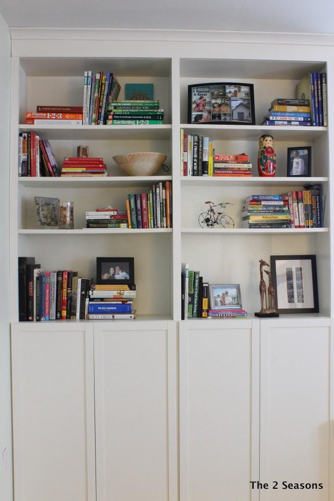 IMG 8610 682x1024 - Bookshelf Update With Peel-off Wallpaper