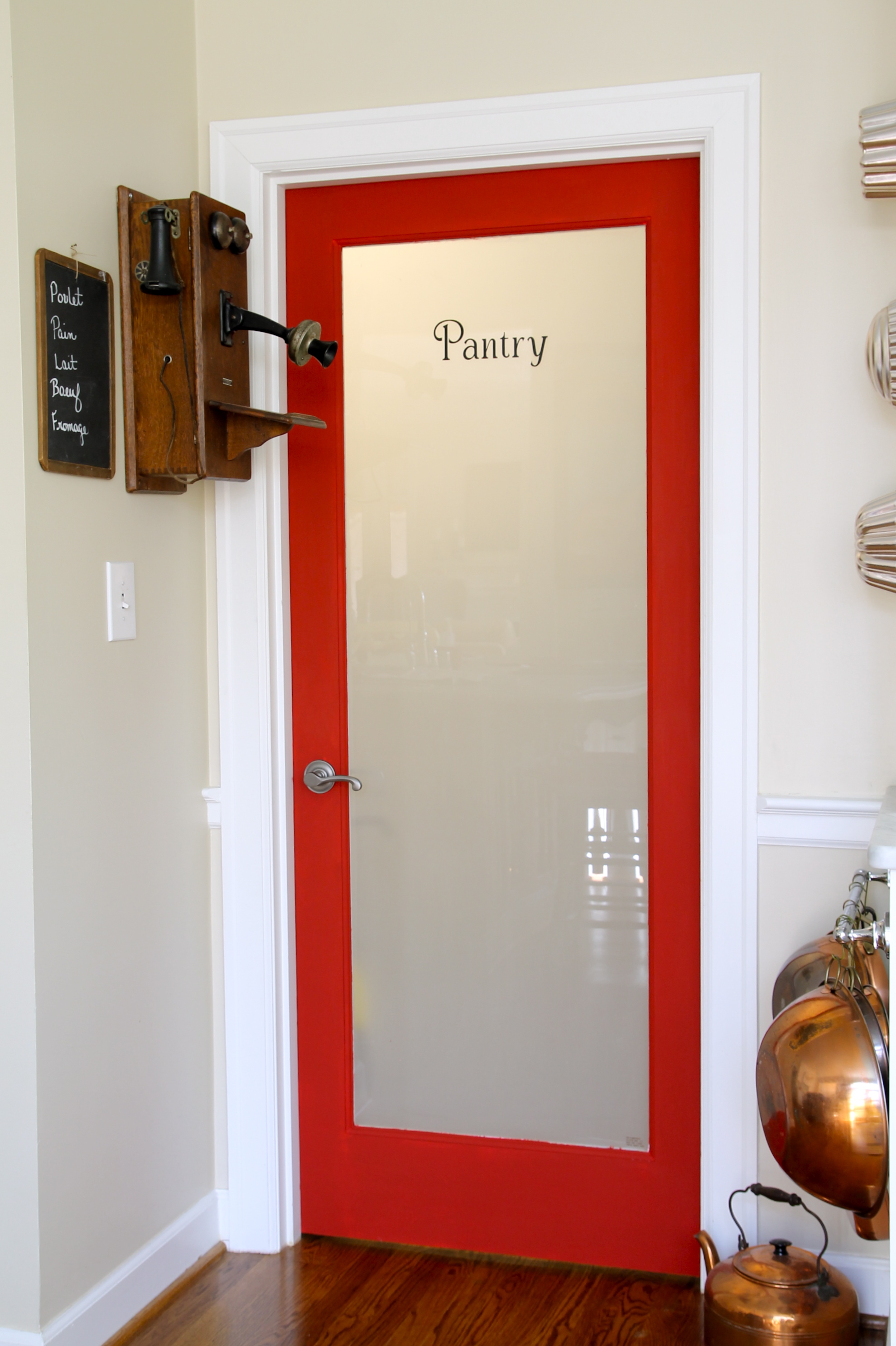 Pantry door - The 2 Seasons