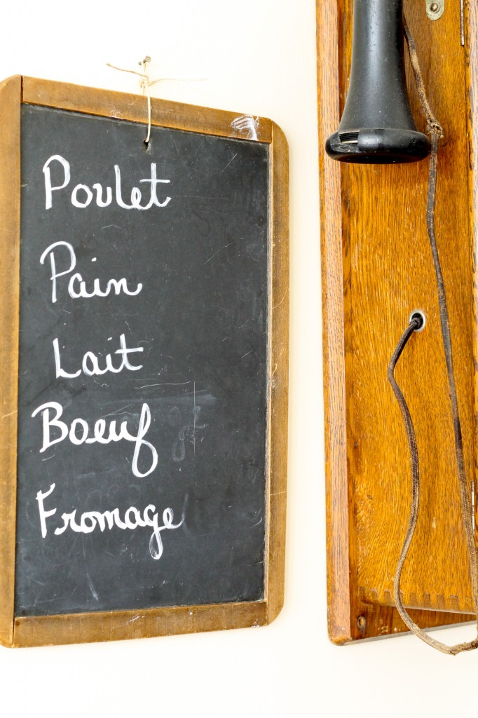 French grocery list