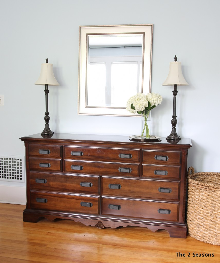 How to update a dresser without paint