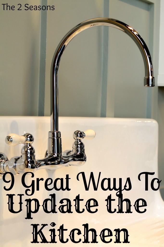 Nine Great Kitchen Updates 682x1024 - Nine Ways to Update A Kitchen or Bath