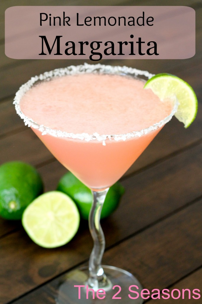 Pink Lemonade Margarita - The 2 Seasons