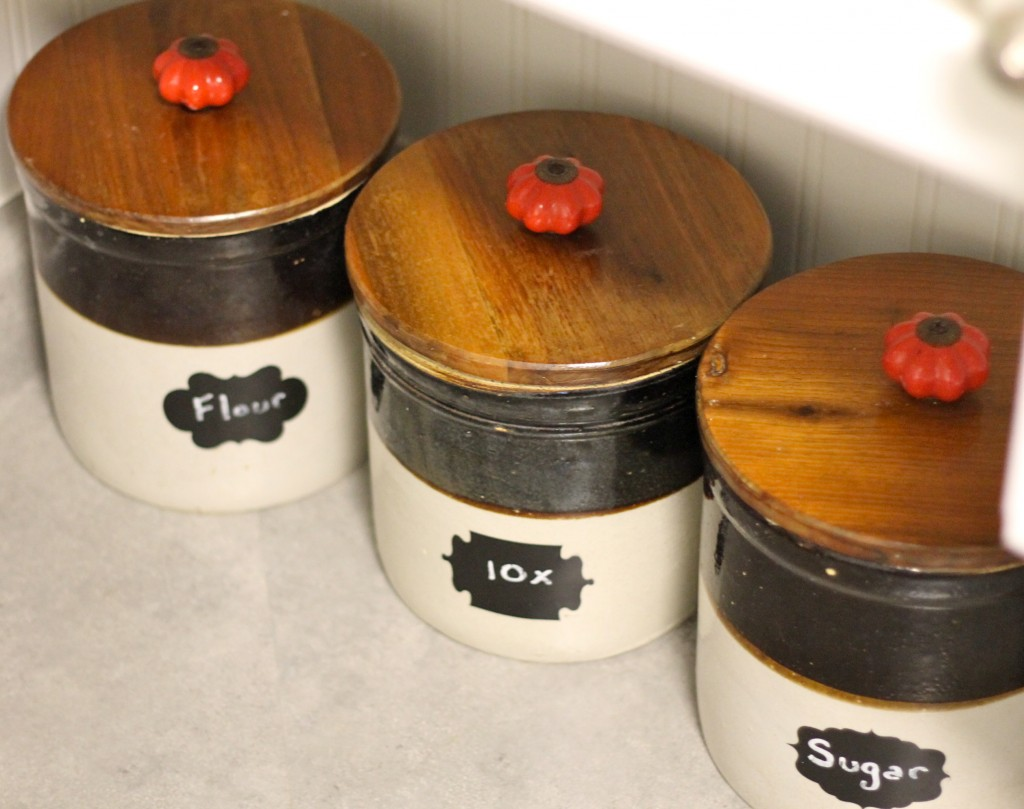 cannisters from crocks