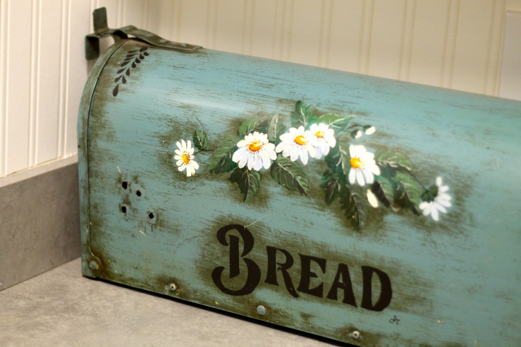 bread box from mail box