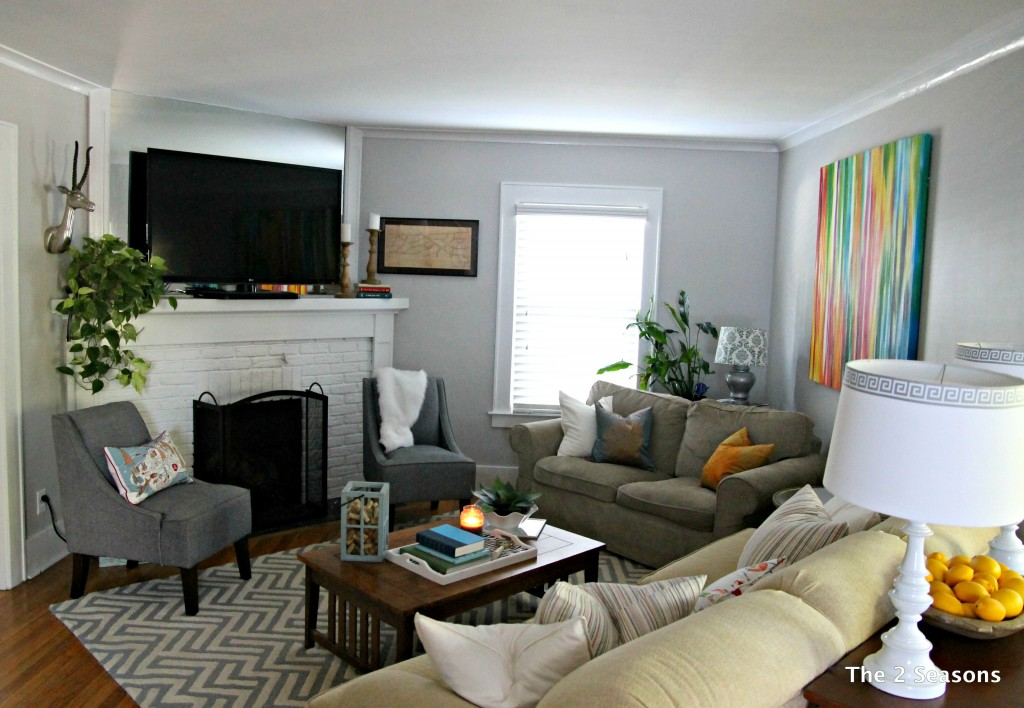 The 2 seasons the mother daughter lifestyle blog for Living room update ideas