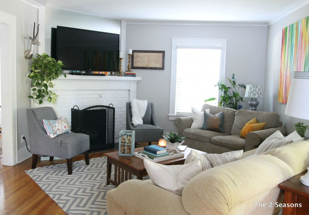 The 2 seasons the mother daughter lifestyle blog for Living room updates
