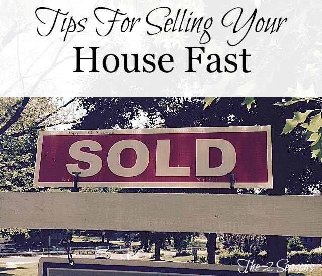 Sold pid - Tips for Selling Your House Fast