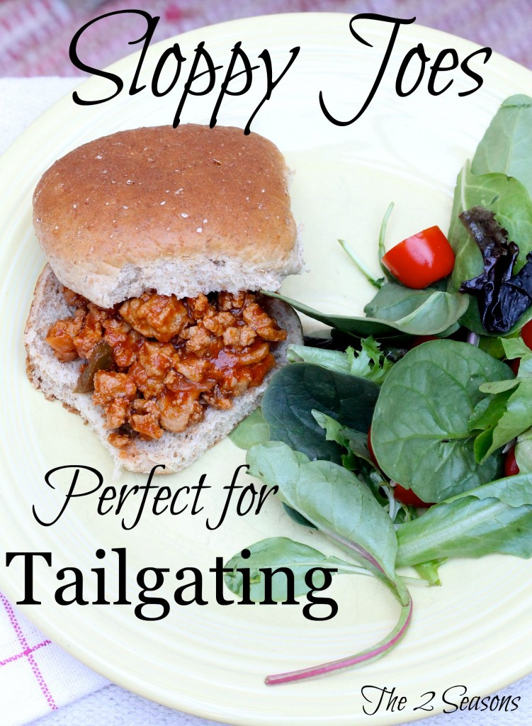 Here's a great recipe for game day sloppy joes. -The 2 Seasons