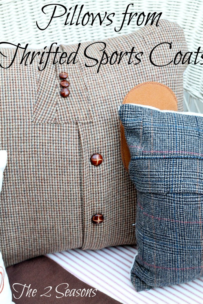 Sports Coat Pillows