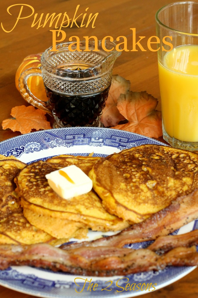 Pumpkin Pancakes 682x1024 - Three Great Recipes Using Pumpkin