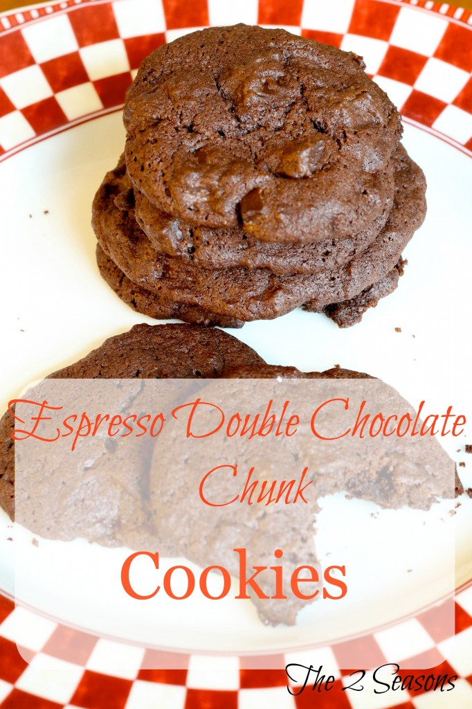 Espresso enhances the deep chocolate flavor in these cookies.
