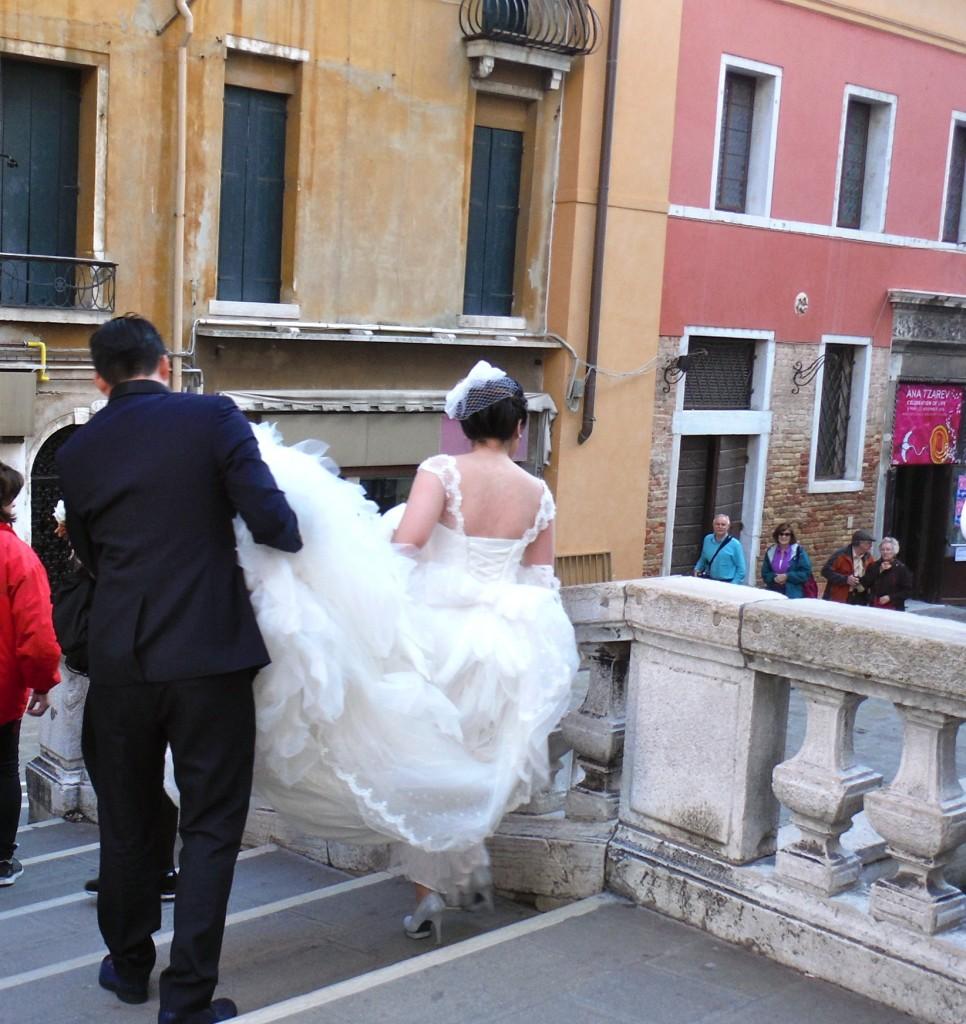 Bride in Venice