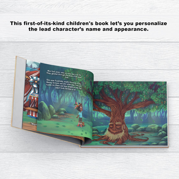Personalized book