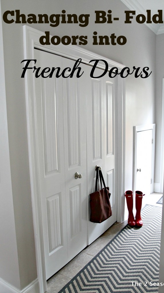 How To Turn Bi Fold Doors Into French Doors