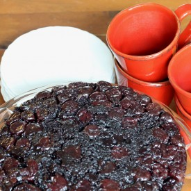 Black Forest Upside Down Cake - The 2 Seasons