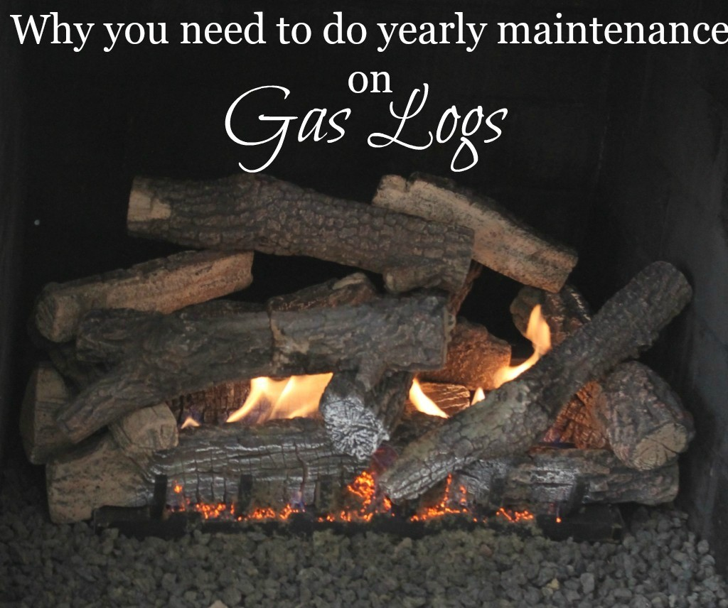 Why you need to do annual maintenance on gas logs