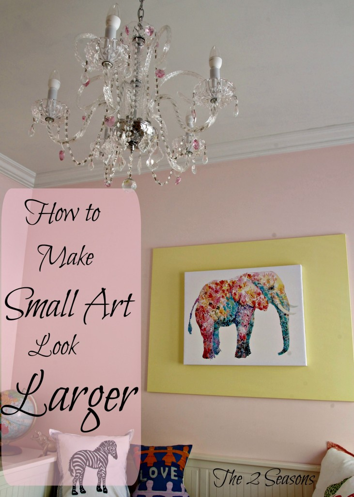 How To Make Small Art Look Larger 731x1024 - How to Make Small Art Look Larger