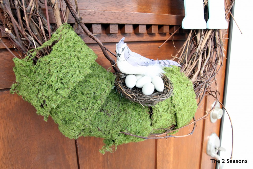 IMG 9565 1024x683 - How to Make a Spring Wreath